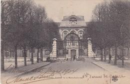SAINT ETTIENNE. ENTREE DE LA MANUFACTURE. MTIL. CIRCULEE 1904 A St PIERRE MIQUELON. STAMP AVEC BORD DU PLAQUE - BLEUP - Saint Etienne