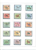 FALKLAND ISLANDS (MALVINAS) 390/404 (15V) 1984 MICHEL - Islas Malvinas