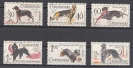 CSSR 1965 Mi 1542 -7 Yv. 1408 -13 Hunde MNH** - Cecoslovacchia