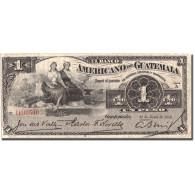 Billet, Guatemala, 1 Peso, 1918, 1918-06-25, KM:S111b, TB+ - Guatemala