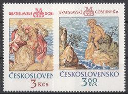 CSSR 1976 Mi. 2319 -20 Yv. 2163 -64 Postfrisch MNH** - Cecoslovacchia