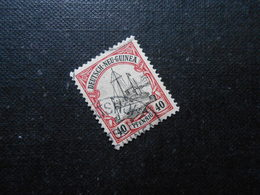 D.R.13  40Pf   Deutsche Kolonien (Deutsch-Neuguinea) 1900 - Mi 28,00 € - Kolonie: Deutsch-Neuguinea