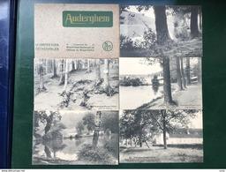 Auderghem-Oudergem/-8 Cpa De La Collection Du Grand Hôtel-Restaurant De L'Abbaye Du Rouge-Cloître - Auderghem - Oudergem
