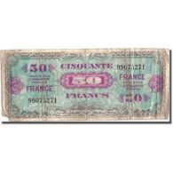 France, 50 Francs, 1945 Verso France, 1945, 1945, B, Fayette:VF24.1, KM:117a - Schatkamer