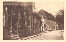 R166055 Katedralskolen Huor. Joh. Evald Modtog Sin Undervisning. Foreningen Slesvig Hus. Eneret 58808 - Ansichtskarten