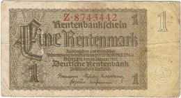 Alemania - Germany 1 Rentenmark 30-1-1937 Pick 173a 7 Dígitos Ref 2985-2 - Otros