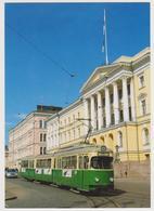 1426/ HELSINKI Finland. Tranway / Tram, Senaatintori (1967/1970). Non écrite. Unused. No Escrita. Non Scritta. - Tranvía