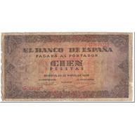 Billet, Espagne, 100 Pesetas, 1938, 1938-05-20, KM:113a, B - 100 Pesetas