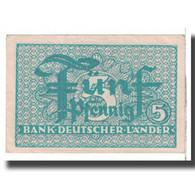 Billet, République Fédérale Allemande, 5 Pfennig, 1948, KM:11a, TTB - [13] Bundeskassenschein