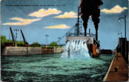 Illinois Peoria Whitehouse Crossing Locks - Peoria