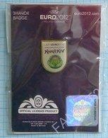UKRAINE / Badge / POLAND / Pin. Football. Europe Championship. UEFA . EURO 2012. Sports Stadium. Kharkіv. - Fussball