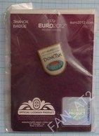 UKRAINE / Badge / POLAND / Pin. Football. Europe Championship. UEFA . EURO 2012. Sports Stadium. Donetsk. - Football