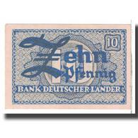 Billet, République Fédérale Allemande, 10 Pfennig, 1948, KM:12a, SUP - [13] Bundeskassenschein