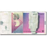 Billet, Macédoine, 10 Denari, 2003-2007, 2007, KM:14g, TTB - Macédoine