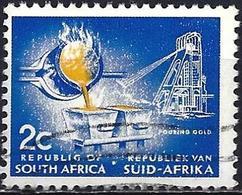 South Africa 1973 - Mi 432A - YT 337C ( Gold ) Phosphorescent Paper - Perf. 12½ - Afrique Du Sud (1961-...)