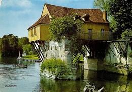 27 Vernon Le Vieux Moulin Saint Jean (2 Scans) - Vernon