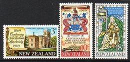 NEW ZEALAND, 1969 LAW SOCIETY 3 MNH - New Zealand