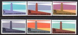 NEW ZEALAND, 1981 LIGHTHOUSES 6 MNH - Nuevos