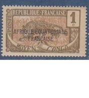 CONGO          N°  YVERT  :   72   NEUF SANS   CHARNIERES      ( Nsch 1/20 ) - French Congo (1891-1960)