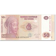 Billet, Congo Democratic Republic, 50 Francs, 2013, 2013-06-30, KM:97a, NEUF - República Del Congo (Congo Brazzaville)