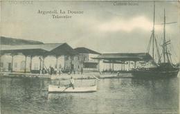 WW ARGOSTOLI En Grèce. La Douane 1916 - Grèce