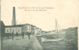 WW ARGOSTOLI En Grèce. Rue Venizelos1916 - Grèce