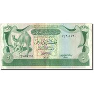 Billet, Libya, 5 Dinars, KM:45a, TB+ - Libye