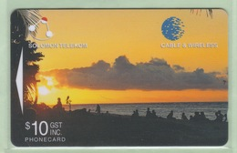 Solomon Island - 1998 Sixth Issue - $10 Sunset - SOL-21 - VFU - Solomoneilanden
