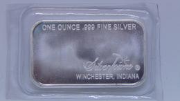 Silver Towne Mint 1 Troy Oz .999 Fine Silver Bar Prospector - Unclassified
