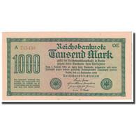 Billet, Allemagne, 1000 Mark, 1922, 1922-09-15, KM:76b, SUP - [ 3] 1918-1933 : República De Weimar