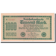 Billet, Allemagne, 1000 Mark, 1922, 1922-09-15, KM:76b, SUP - [ 3] 1918-1933: Weimarrepubliek