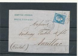N°22 VARIETE PIQUAGE SUR LETRE - 1862 Napoleon III