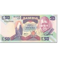 Billet, Zambie, 50 Kwacha, 1980-1988, Undated (1980-1988), KM:28a, NEUF - Zambie