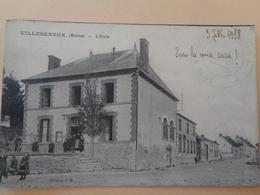 Villeseneux (Marne) - L'Ecole - Ecoles