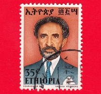 ETIOPIA - Usato - 1973 - Imperatore Haile Selassie - 35 - Ethiopië