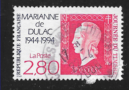 FRANCE 2864 Journée Du Timbre 1994 Marianne De Dulac - France