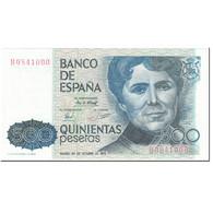 Billet, Espagne, 500 Pesetas, 1979, 1979-10-23, KM:157, NEUF - [ 4] 1975-… : Juan Carlos I