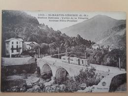 Saint-Martin-Vésubie (A-M) - Station Estivale De La Vésubie - Av Félix Poullan - Ponts