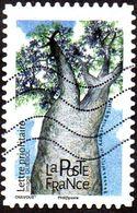 Oblitération Moderne Sur Adhésif De France N° 1606 - Arbres, Baobab Africain - Adansonia Digitata - Used Stamps