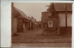 ! Carte Photo Militaire Allemande, Feldpostexpedition 28. Reserve Div., Militaria, 1.Weltkrieg, Frankreich, Guerre 14/18 - 1914-18