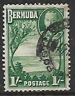 Bermuda, 1936, GVR, 1/= Green, Used - Bermuda