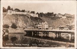 ! Chile Fotokarte, Photo, Estero Marga Marga, Vina Del Mar, 1926 - Chili