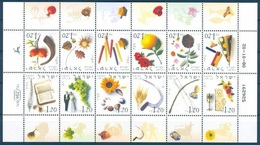 2002Israel1649-1660KLHolidays & Nature In Each Month - Neufs (avec Tabs)
