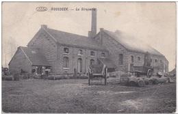 Beschadigd 1918 Deutsches Reich Roosbeek Siroperie Boutersem Omg. Leuven Tienen Kerkom Hageland Vertrijk Bierbeek (kreuk - Boutersem