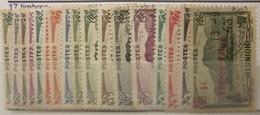 Réunion - YT 190 à 206 - Réunion (1852-1975)