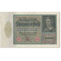 Billet, Allemagne, 10,000 Mark, 1922, 1922-01-19, KM:70, TTB - [ 3] 1918-1933 : République De Weimar