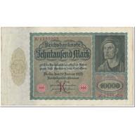Billet, Allemagne, 10,000 Mark, 1922, 1922-01-19, KM:70, TTB - [ 3] 1918-1933: Weimarrepubliek