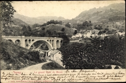 Cp Vevey Kt. Waadt Schweiz, Le Grand Pont De Brent - VD Vaud
