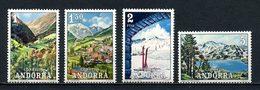 ANDORRE ESP 1972 N° 65/68 ** Neufs MNH Superbes C 7,50 € Tourisme Encamp Massona Casa Lac Pessons Paysages - Spanish Andorra