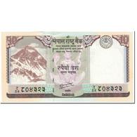 Billet, Népal, 10 Rupees, 2012, Undated (2012), KM:70, NEUF - Népal
